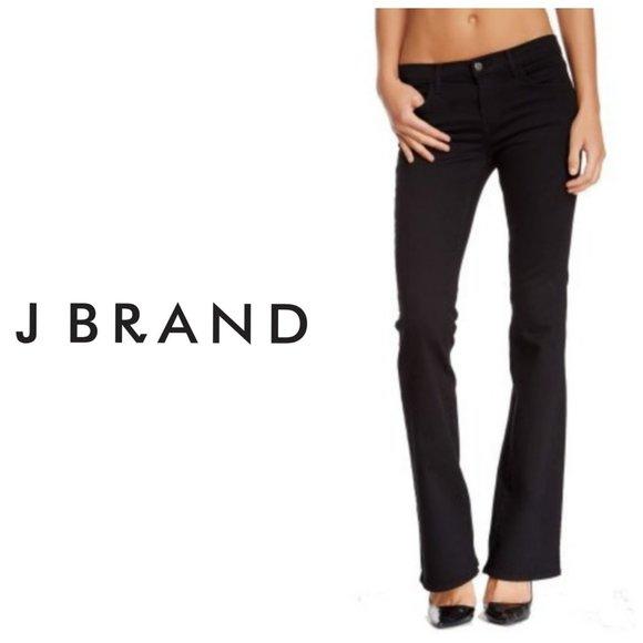 J BRAND Hewson Black Boot Cut Jeans